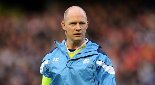 Duncan Hodge will take charge of Edinburgh for the first time on Friday night since been appointed acting head coach