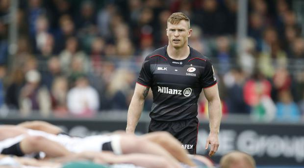 Saracens' Chris Ashton has been banned for 13 weel for biting