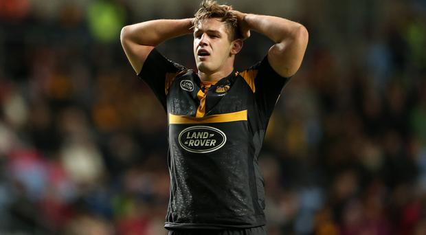 Wasps' Sam Jones has an ankle injury