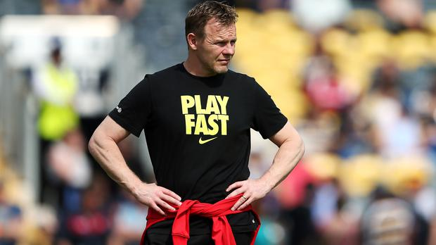 Mark McCall is preparing Saracens for an Aviva Premership clash with Wasps