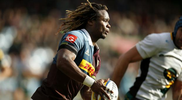 Marland Yarde produced a fine performance at the Stoop