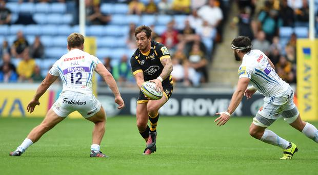 Wasps' Danny Cipriani was superb in the defeat to Saracens.