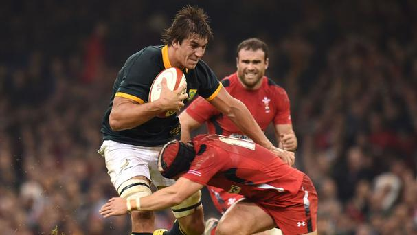 South Africa's Eben Etzebeth is in talks with Saracens