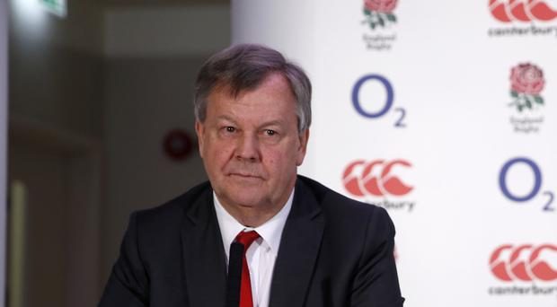 RFU chief executive Ian Ritchie has seen the organisation's total revenue almost double