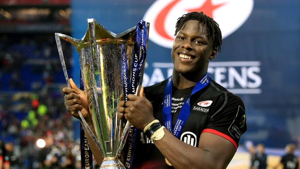 Saracens' Maro Itoje is preparing to face Toulon on Saturday