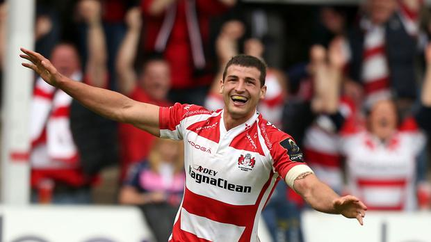 England wing Jonny May made a tryscoring comeback for Gloucester.