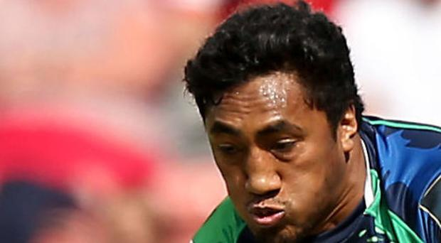 Connacht's Bundee Aki scored a crucial late try