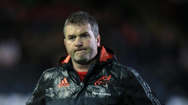 Munster head coach Anthony Foley has died