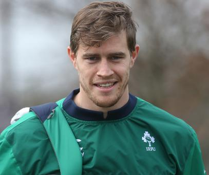 Andrew Trimble scored but was on the losing side