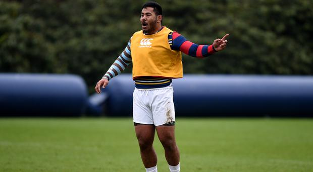 Manu Tuilagi could return from injury in two to three weeks' time