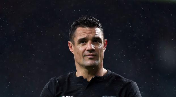 New Zealand World Cup winner and current Racing 92 fly-half Dan Carter