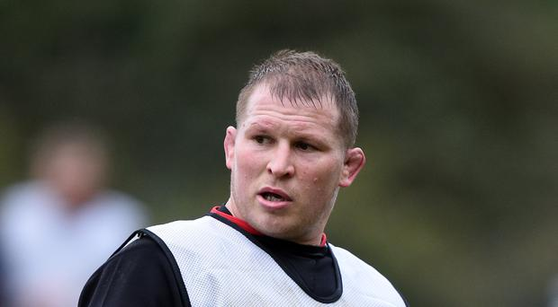 England captain Dylan Hartley will return to action after injury for Northampton on Saturday
