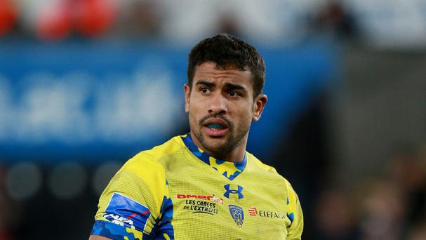 Wesley Fofana was among Clermont's try-scorers against Bordeaux