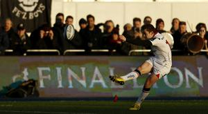 Paddy Jackson helped kick Ulster to victory over Exeter