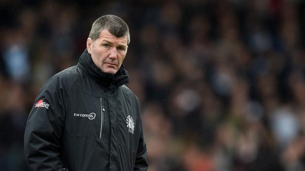 Exeter coach Rob Baxter is not giving up on his side's European hopes despite defeat