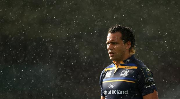 Isa Nacewa converted his 79th-minute try to get Leinster a losing bonus point