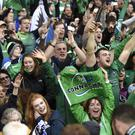 Connacht fans had something to celebrate in Parma