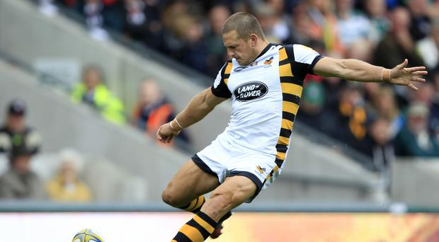 Wasps' Jimmy Gopperth converted Nathan Hughes' late try to secure a 20-20 draw