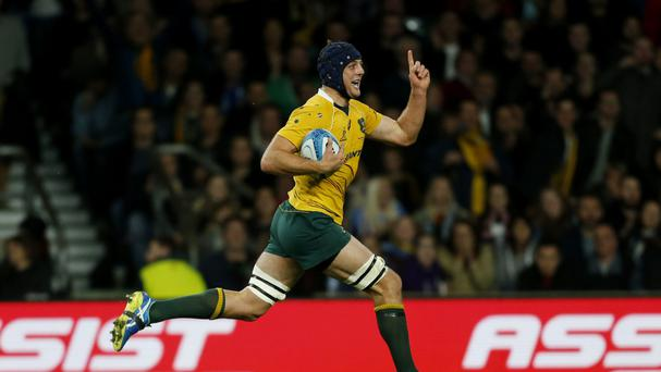 Dean Mumm has been banned for Australia's match with Wales on November 5