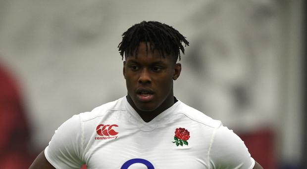 Saracens and England lock Maro Itoje will be out for six weeks after fracturing his right hand