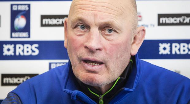 Vern Cotter has named five England-based players in his Scotland squad for the November Tests