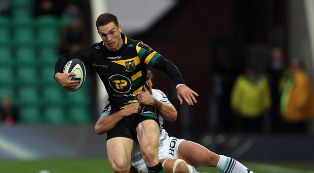 Wales are hopeful George North will prove his fitness for the autumn opener against Australia by playing for Northampton Saints on Friday.