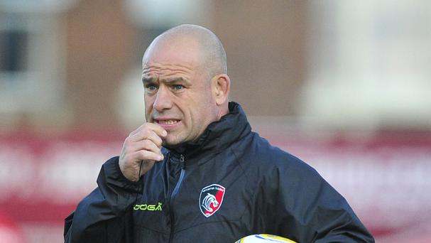 Leicester rugby director Richard Cockerill is fully aware of the challenge facing his players against Saracens