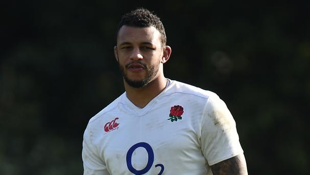 Courtney Lawes was hurt in Northampton's win
