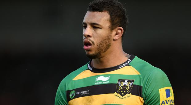 Courtney Lawes has a knee injury