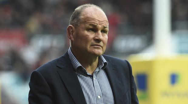 Bristol boss Andy Robinson saw his side lose against Sale.