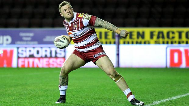 Josh Charnley could make his rugby union debut on Friday