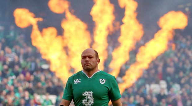 Rory Best will captain Ireland against New Zealand