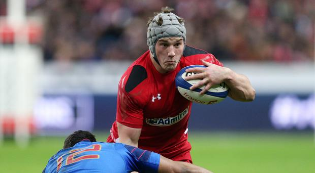 Wales centre Jonathan Davies (right) has been ruled out of the autumn Test series opener against Australia due to injury
