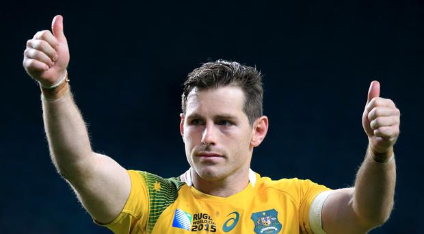 Australia's Bernard Foley was in outstanding form in their 32-8 victory over Wales in Cardiff.