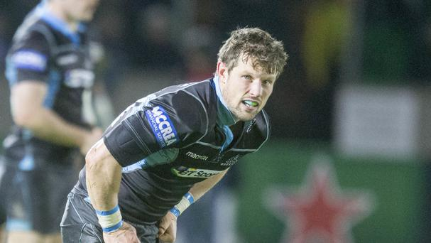 Peter Horne scored Glasgow Warriors' only penalty