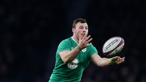 Robbie Henshaw was a key man for Ireland