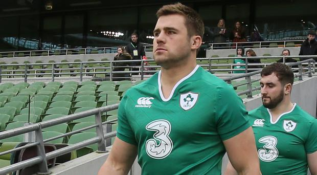 It was an emotional day for CJ Stander