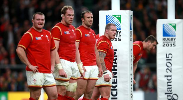 Wales hooker Ken Owens, left, knows an immediate response from defeat against Australia will be required against Argentina next Saturday