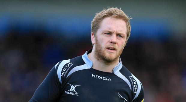 Alex Tait crossed for Newcastle in the loss to Northampton.
