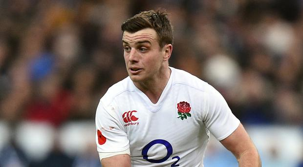 Englanf fly-half George Ford was linked with a move to Toulon last week