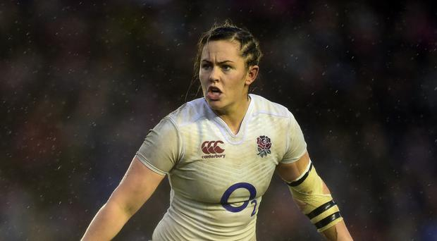 Marlie Packer scored the crucial try against France