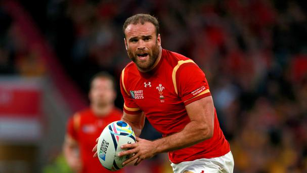 Centre Jamie Roberts has been left out of the Wales starting line-up for Saturday's Test match against Argentina