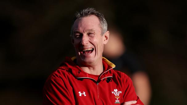 Rob Howley, pictured, is overseeing Wales while Warren Gatland is on Lions duty