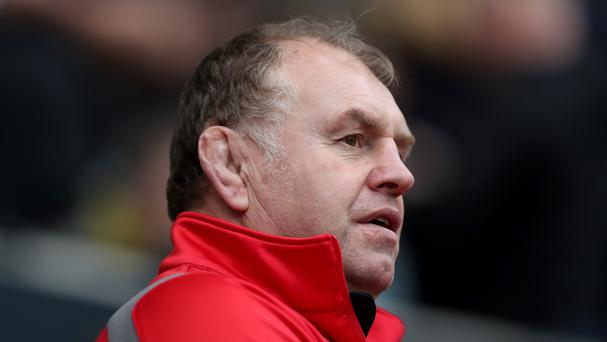 Dean Richards' Newcastle lost at Saracens