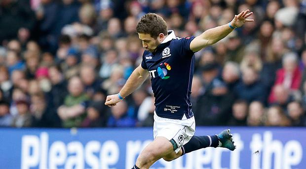 Scotland's Greig Laidlaw was left to rue the defeat by Australia