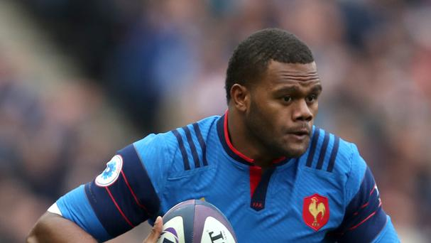 France's Virimi Vakatawa was in form against Samoa