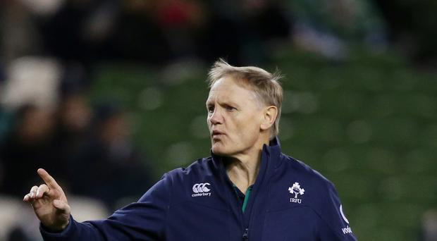 Ireland head coach Joe Schmidt is preparing his side for a rematch with New Zealand