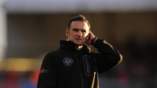 Exeter coach Ricky Pellow was pleased how his side battled back