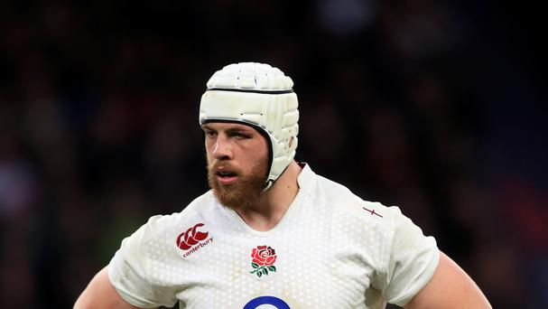Dave Attwood will miss England's match against Fiji through injury.