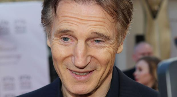 Liam Neeson has lent his support to Ireland's bid to host rugby union's World Cup in 2023.